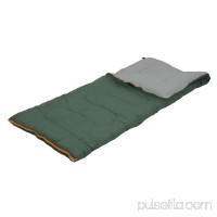 Stansport Scout - 3 lb - 33 x 75 Rect. Sleeping Bag - Forest Green 570415125