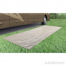 Prest-O-Fit 2-3001 Aero-Weave Breathable Outdoor Mat Santa Fe Brown 6 Ft. x 15 Ft. 564142722